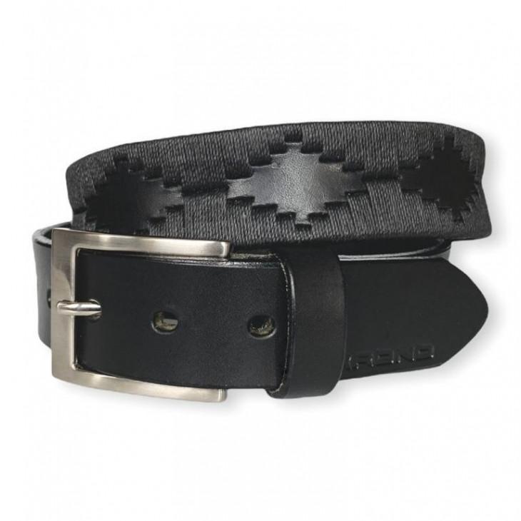 "The Polo Belt ""Black Gaucho"""