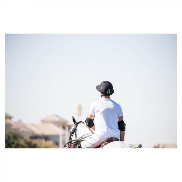 Black Polo Helmet