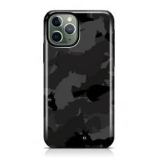 Iphone Black Camouflage case
