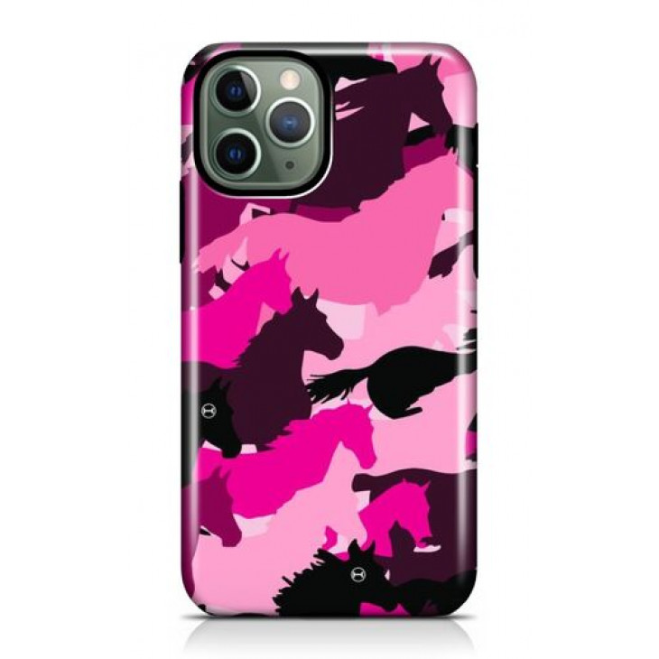 Iphone Pink Camouflage Case