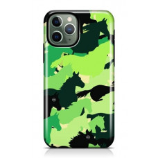 Iphone Green Camouflage case