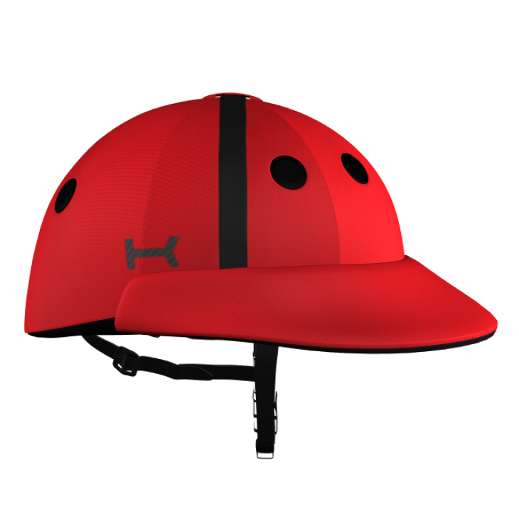Red Polo Helmet