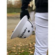 White Polo Helmet