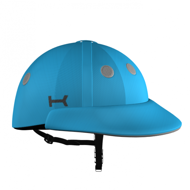 Light Blue Polo Helmet