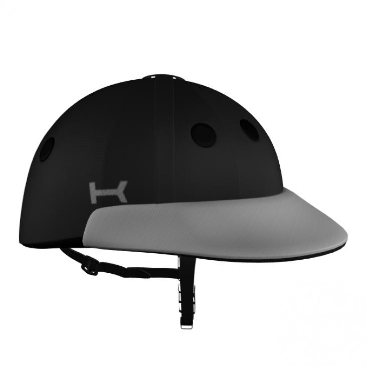 Black and Grey Helmet