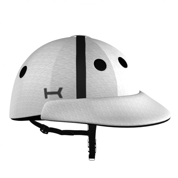 White Polo Helmet