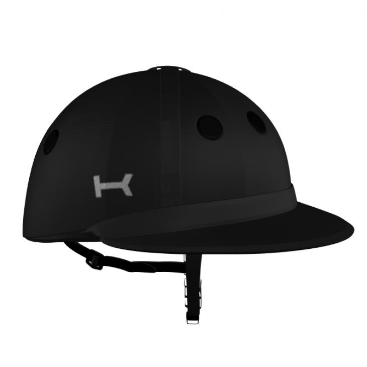 Black Argentine Polo Helmet